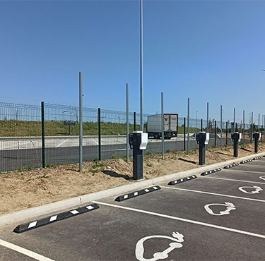 Point de charge Green ElectrISE