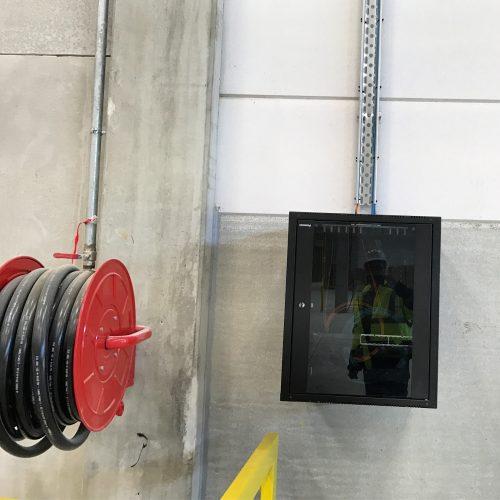 ElectrISE installe des infrastructures électriques Bâtiment Logistique